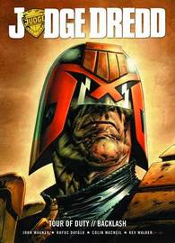 Judge Dredd Tour of Duty: The backlash by John Wagner