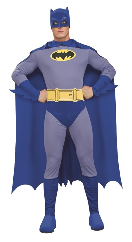 DC Comics: Batman (Brave & Bold) - Men's Costume (Medium)
