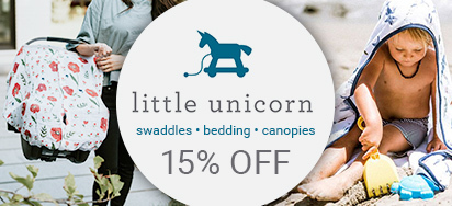 15% off Little Unicorn