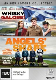 Whisky Lovers: Whisky Galore & Angels Share on DVD