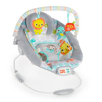 Bright Starts: Cradling Bouncer - Whimsical Wild
