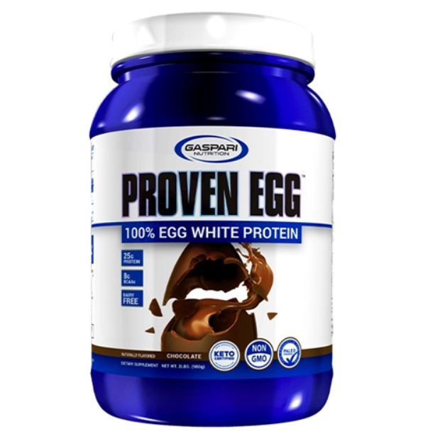 Gaspari: Proven 100% Egg White - Chocolate (907g)