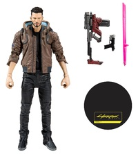 """Cyberpunk 2077: V (Male) - 7"""" Articulated Figure"""