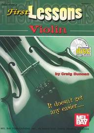 First Lessons Violin by Craig Duncan image