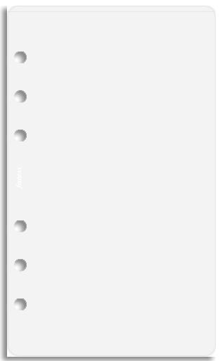 Filofax - Personal Top Opening Envelope - Transparent