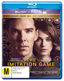 The Imitation Game (Blu-ray/UV) on Blu-ray