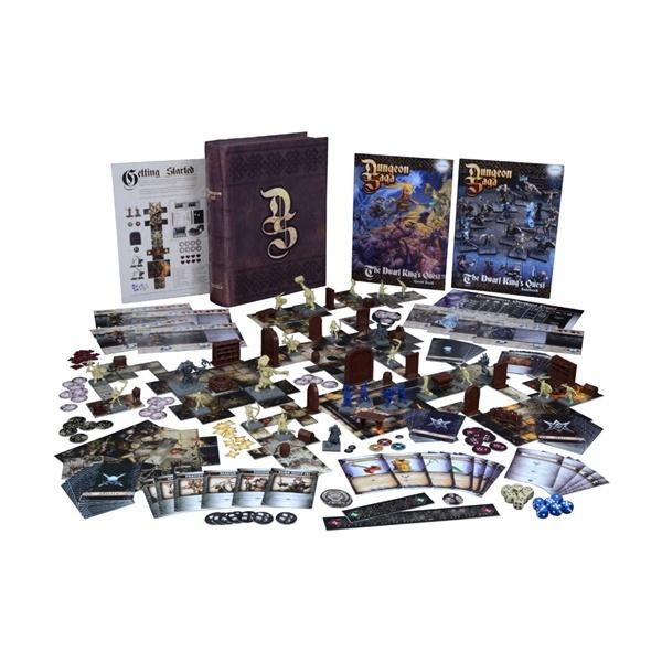 Dungeon Saga: Dwarf King's Quest Boxed Game