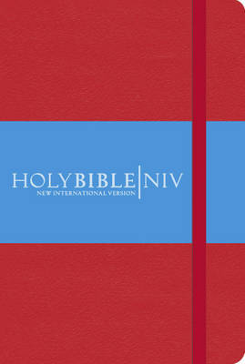 NIV Pocket Red Notebook Bible by International Bible Society image
