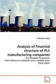 Analysis of Financial Structure of Plc Manufacturing Companies by Haileslasie Tadele