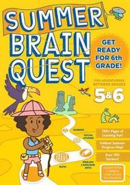 Summer Brain Quest Get Ready for 6th Grade by Workman Publishing