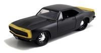Jada: 1/24 '67 Chev Camaro Diecast Model (Black)