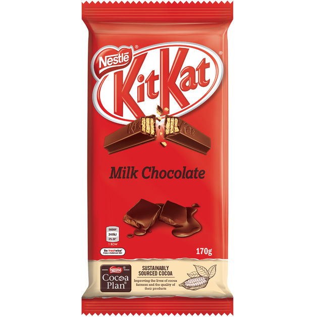 KitKat Milk Chocolate Block (170g)
