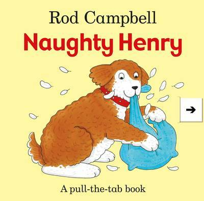 Naughty Henry by Rod Campbell image