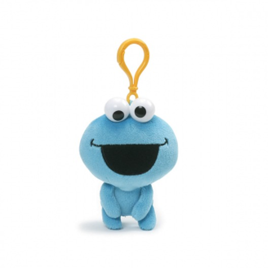 Sesame Street: Cookie Monster - Emoji Backpack Clip