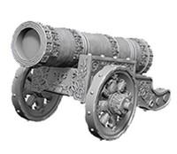 WizKids Deep Cuts: Unpainted Miniatures - Large Cannon image