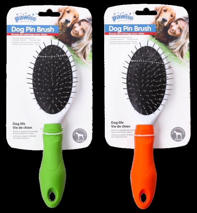 Pawise: Dog Pin Brush - 23.5x6.5cm