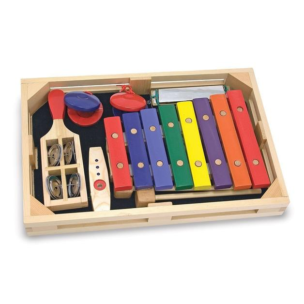 Beginner Band Set Musical Instruments - Melissa & Doug