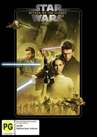 Star Wars: Episode II - Attack of the Clones on DVD