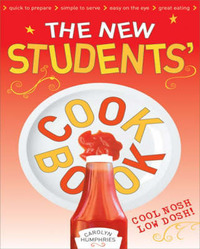 The New Students' Cook Book by Carolyn Humphries image
