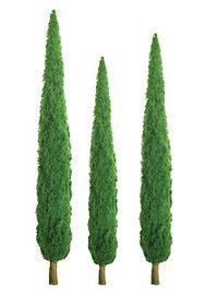 "JTT Scenic Poplar Trees 4"" (3pk) - H0 Scale"