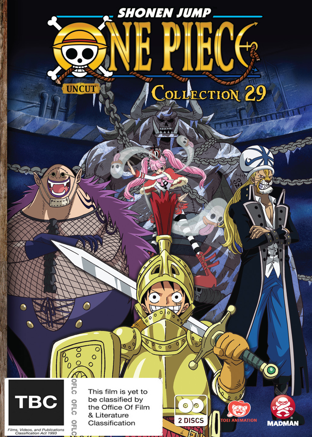 One Piece: Uncut - Collection 29 on DVD image