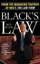 Black's Law by R. E. Black image