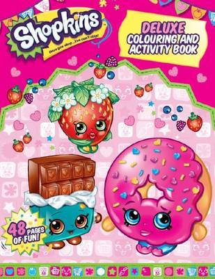 Shopkins Deluxe Colouring and Activity Book image