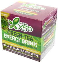 Green Tea X50 Passionfruit (60 Sachets)