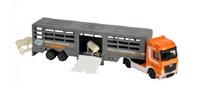 Majorette: Utility Transporter Playset - Cattle