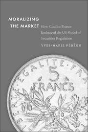 Moralizing the Market by Yves-Marie Pereon