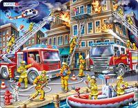 Larsen: Firefighters - 45 Piece Puzzle