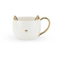 Pinky Up: Chloe - White Cat Mug
