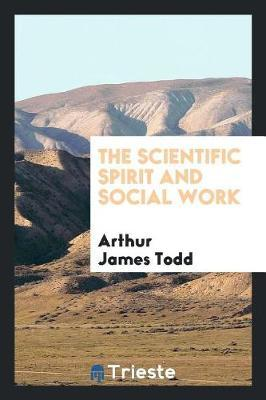 The Scientific Spirit and Social Work by Arthur James Todd image