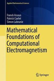 Mathematical Foundations of Computational Electromagnetism by Franck Assous