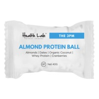 Health Lab 'The 3PM' Almond Protein Ball (40g)