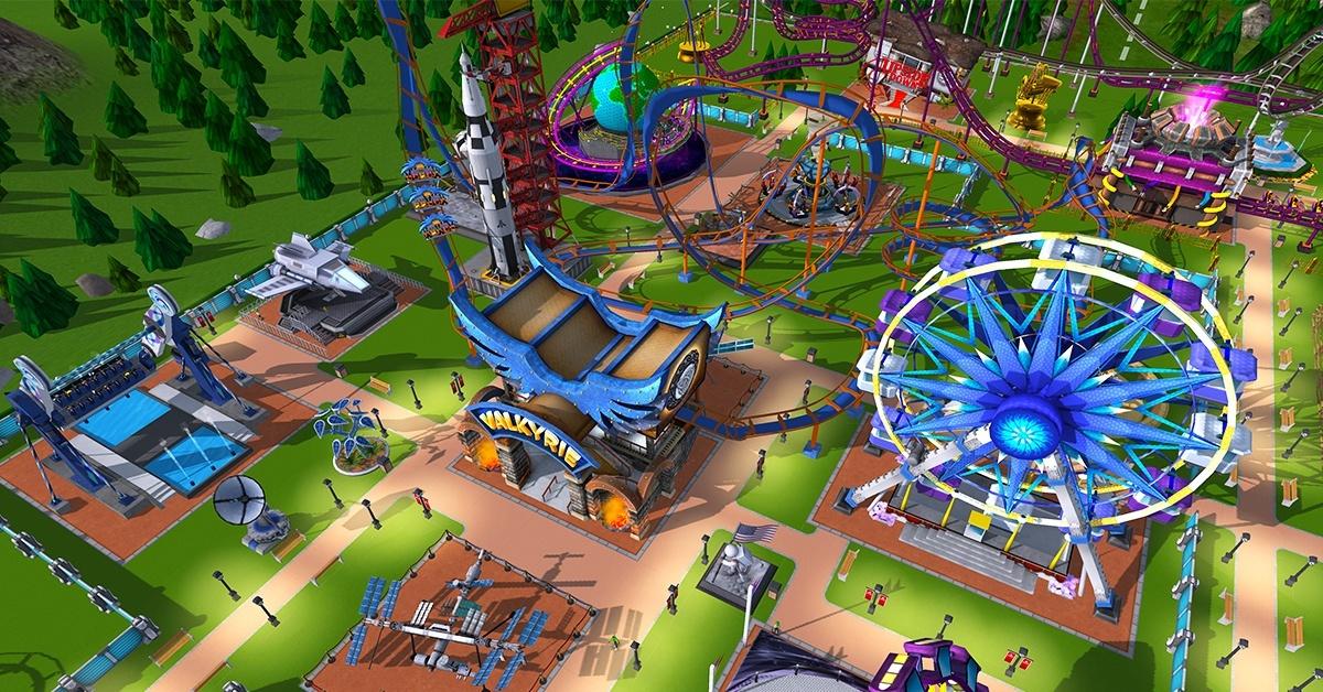 RollerCoaster Tycoon Adventure