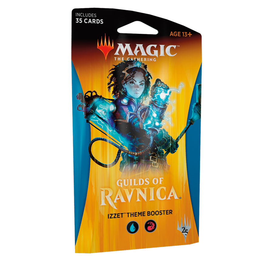 Magic The Gathering: Guilds of Ravnica Theme Booster: Izzet image