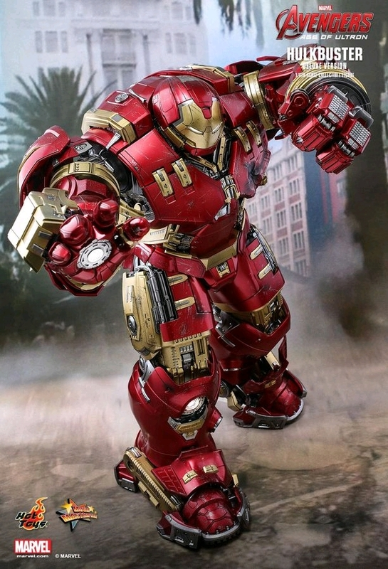 "Avengers 2 Age of Ultron: Hulkbuster (Deluxe) - 12"" Articulated Figure"