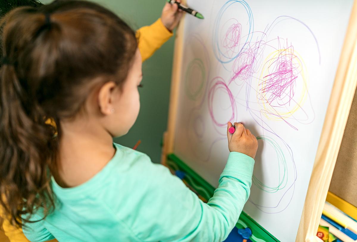 Crayola - Kids Wooden Art Easel image