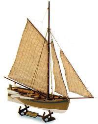 Artesania Latina Longboat Bounty's Jolly Boat 1:25 Wooden Model Kit