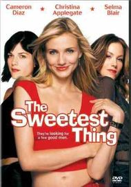 The Sweetest Thing on DVD image