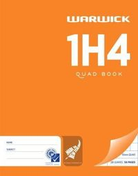 Warwick 1H4 28lf 10mm Quad Exercise Book