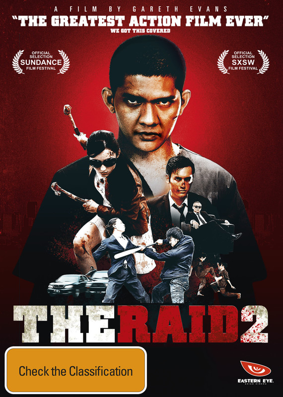 The Raid 2 on DVD