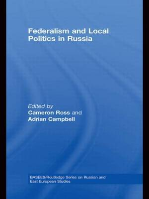 Federalism and Local Politics in Russia image