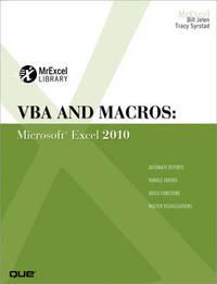 VBA and Macros by Bill Jelen