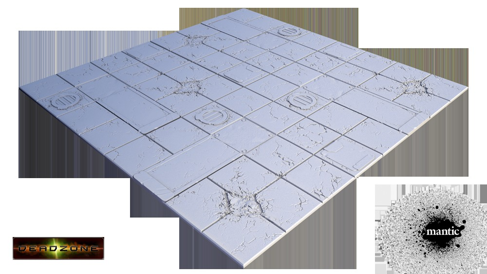Tablescapes Tiles: Deadzone Display Board image