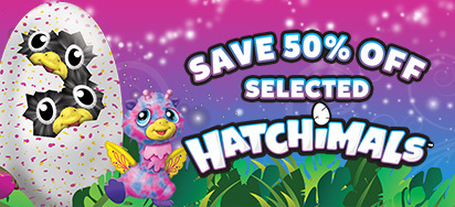 Half price Hatchimal deals!