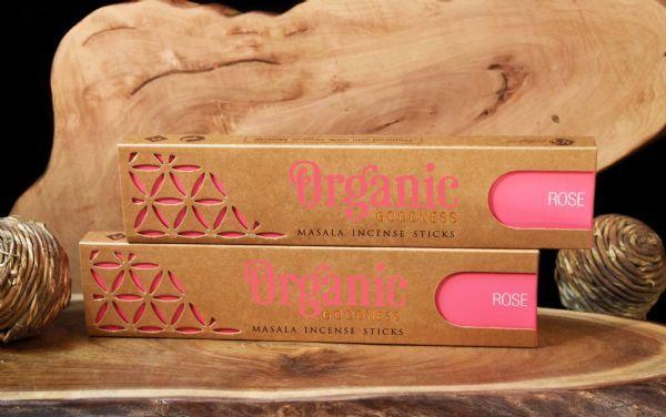 Organic Masala Incense Sticks Rose