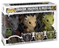 Game of Thrones: Drogon, Rhaegal & Viserion (Hatching) - Pop! Vinyl 3-Pack image