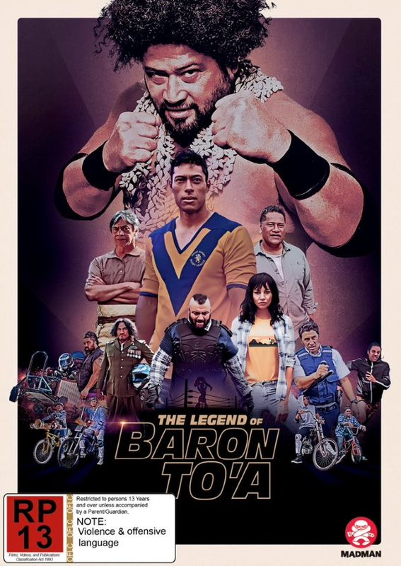 The Legend Of Baron To'a on DVD